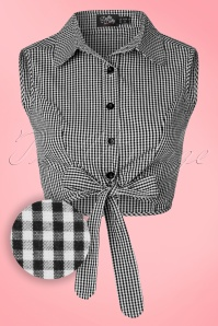 Dolly and Dotty Blouse in Gingham  112 27 20740 20170404 0002W1
