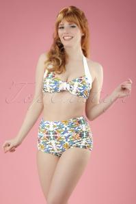 50s Shoreline Bikini in White