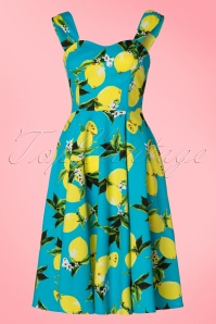 Hearts and Roses Blue Lemon Swing Dress 102 39 21731 20170418 0013W