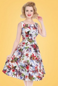 Hearts and Roses Multi Floral Swing Dress 102 57 21735 20170418 1