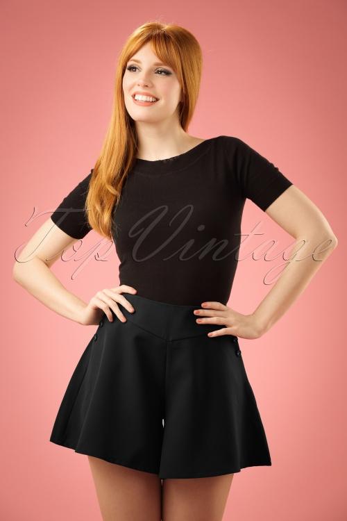 Vixen Black Shorts 130 40 20844 20170306 014W