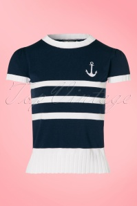 Vixen Parker Navy Sailor Sweather  113 39 20845 20170418 0002W
