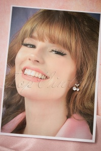 Collectif clothing Diamant Cherry Earrings 332 92 21565 04182017 006W