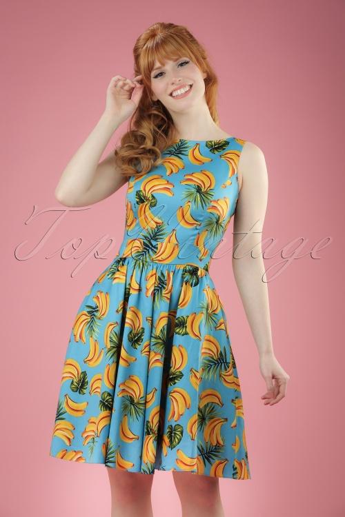 Lady V Banana Tea Swing Dress 102 39 21194 20170329 1W