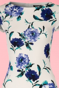 Vintage chic Waterfall Crepe Floral Dress 100 59 21984 20170418 0001V
