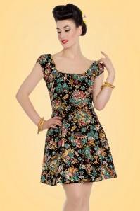 Bunny Morte Caro Mini Dress in Black 102 14 21073 20170420 01