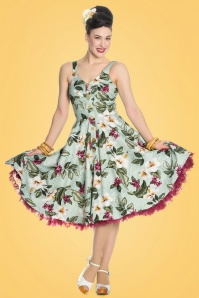 Bunny Tahiti 50s Green Tropical Dress 102 49 21072 20170420 3