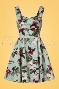 Bunny Tahiti Green Mini Dress 102 49 21074 20170420 0001W