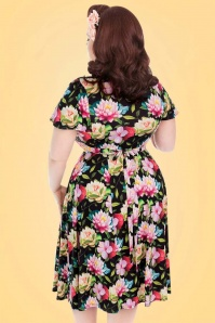 Lady Voloptuous Floral Dress 21786 4
