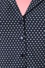 Dancing Days by Banned Lovely Day Navy Polkadot Blouse  112 39 20940 20170331 0010a