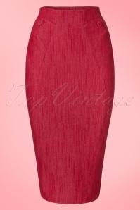 Miss Candyfloss Denim Pencil Skirt 120 20 20625 20170323 0003W