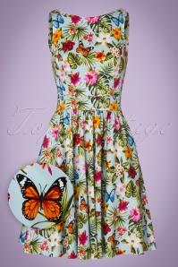 Lady V Summer Floral Tea Swing Dress 102 39 21196 20170329 0013W1
