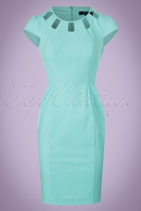 Fever Kitty Blue Pencil Dress 100 30 20065 20170329 0007W