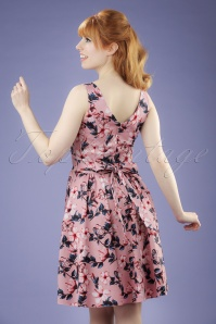 wLady V Tea Pink Floral Butterfly Swing Dress 102 29 21195 20170403 0017W