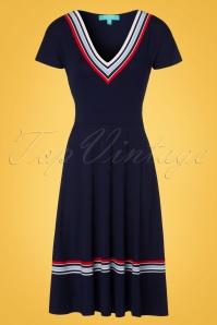 Fever Toulon Blue Dress 102 39 20070 20170329 0003W