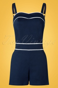 Steady Clothing Sailor Blue Playsuit 20774 20170331 0004w