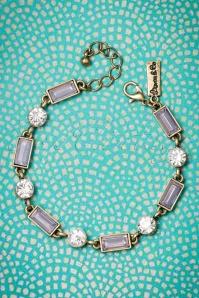 50s Rosewater Stone Bracelet