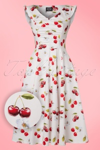 Hearts and Roses White Cherry Swing Dress 102 59 21729 20170424 0014W1