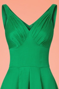Miss Candyfloss TopVintage Exclusive Green Waffle Dress 102 40 20614 20170424 0004c
