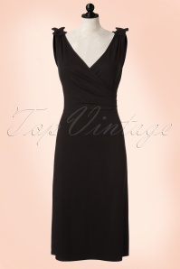 50s The Janice Dress in Black