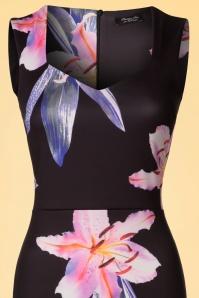 Vintage Chic Marcella Sweetheart Floral Pencil Dress 100 14 22069 20170425 0002V
