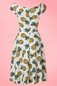 Vintage Chic Marcella Pineapple Dress 102 59 22070 20170425 0006W