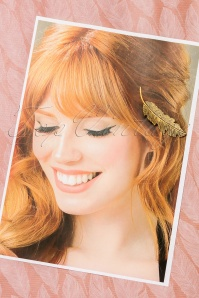 From Paris with Love Fashion Bronz Hairclip 208 91 21545 04262017 009W