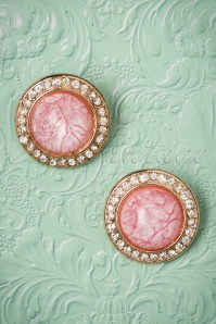 From Paris with Love Puritan pink Earrings 331 22 21550 04262017 005W