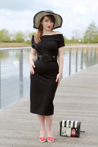 Vintage Diva Jazmin Dress in Black 20544 20170227 0006