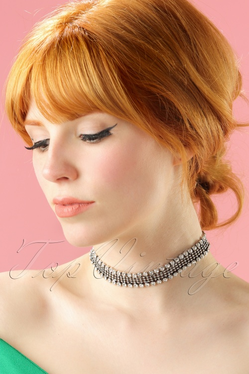 La Parisienne Diamant Crystal Necklace 309 92 21751 04262017 002 modeWl