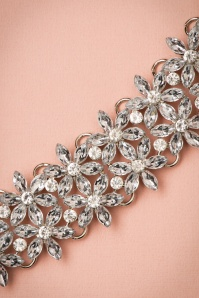 La Parisienne Silver floral Necklace 309 92 21750 04262017 005