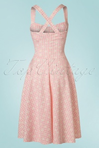 Vintage Chic TopVintage Exclusive Marcella Daisy Halterneck Dress 102 29 21001 20170428 0013W