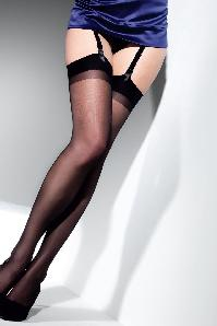 Cristal classic black stockings