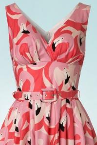 Victory Parade Flamingo Swing Dress 102 29 21500 20170502 0004V
