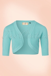 50s Hudson Bolero in Light Blue