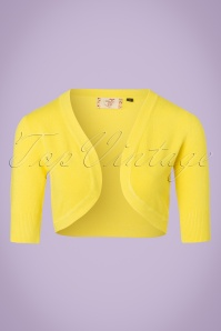 50s Hudson Bolero in Yellow