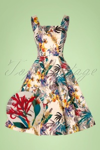 Hearts and Roses Tropical Floral Swing Dress 102 57 21736 20170503 0012wv