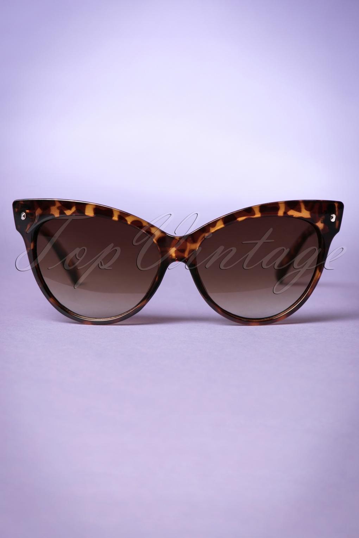 Unique Retro Vintage Style Sunglasses & Eyeglasses 50s So Retro Great Cat Sunglasses in Turtoise £8.49 AT vintagedancer.com