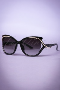 So Retro Retro Milano Sunglasses in Black 260 10 22092 20170505 0013w