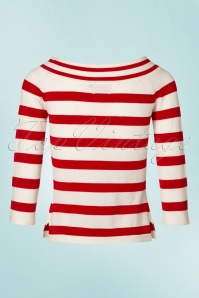 Dancing Days By Banned Ahoi Striped Sweather 113 27 20894 20170505 0007W
