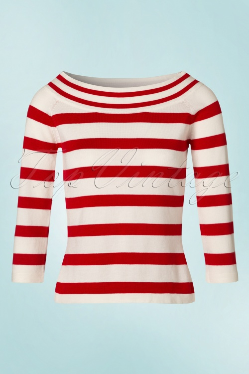 Dancing Days By Banned Ahoi Striped Sweather 113 27 20894 20170505 0001W