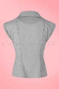 Dancing Days by Banned Willows Top in Black White Stripes 112 14 21504 20170508 0013w