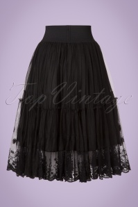Dancing Days by Banned First Sight Skirt with Black Lace 122 10 20906 20170508 0005w