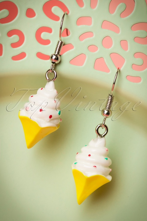 Collectif clothing Ice cream Earrings 333 80 21482 05092017 006W