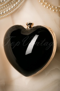 Banned Starburst Heart Bag in black 210 10 21117 05102017 017W