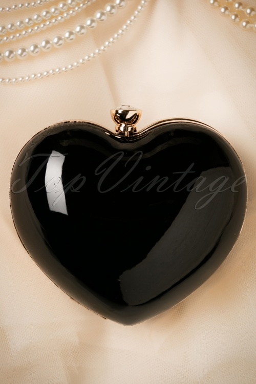 Banned Starburst Heart Bag in black 210 10 21117 05102017 015W