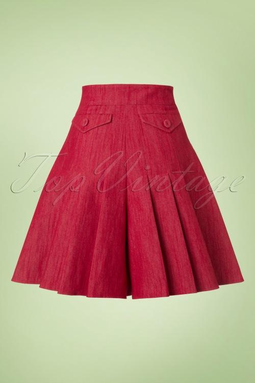 Miss Candyfloss50s Vivian Wide Leg Shorts