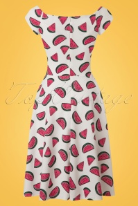 Vintage Chic Marcella High Summer Watermelon Dress 102 59 22071 20170510 0007w
