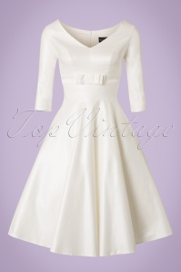 Vixen White Bow Swing Wedding Dress 102 50 20447 20170515 0002W