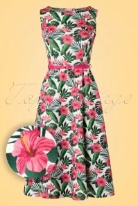 Lady V Marchella Fabric Hawaiian Dress 102 59 21797 20170515 0002W1